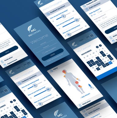 MeCovery App UX