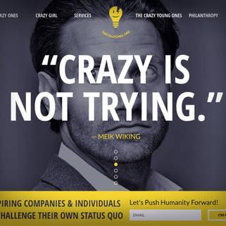 The Crazy Ones - Website