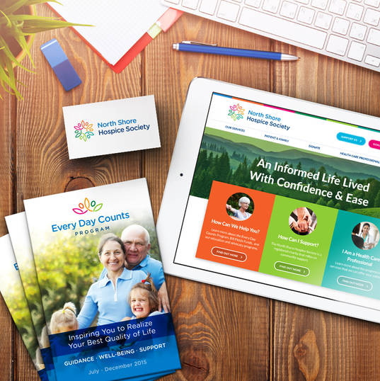 North Shore Hospice - Branding