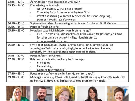 Program for Festivalkonferansen 2018