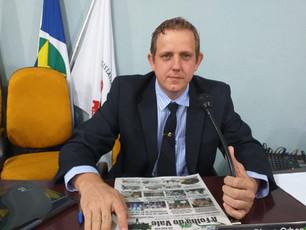 Em Juruena o Vereador Diogo Orben Deverá Entregar o seu Cargo de Líder da Prefeita