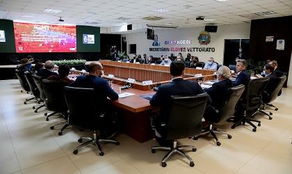 Governador apresenta resultados de dois anos e meio de gestão para a bancada federal