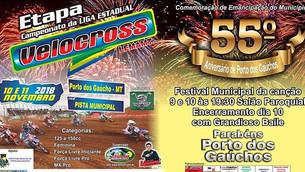 Porto dos Gaúchos se Prepara para as Festividades de Comemoração dos 55 anos de Emancipação de Porto
