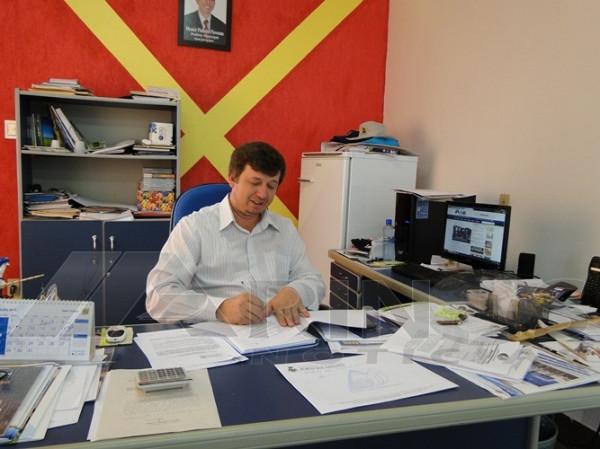 Prefeito de Porto em seu segundo mandato Moacir Pinheiro Piovesan