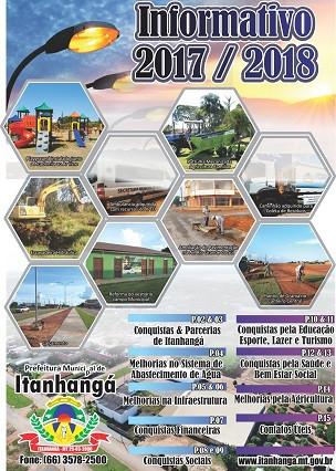 Administração Municipal de Itanhangá Faz um Resumo de Suas Ações de 2017 e 2018 em um Informativo