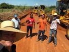 Administração de Castanheira avança no patrolamento das estradas vicinais