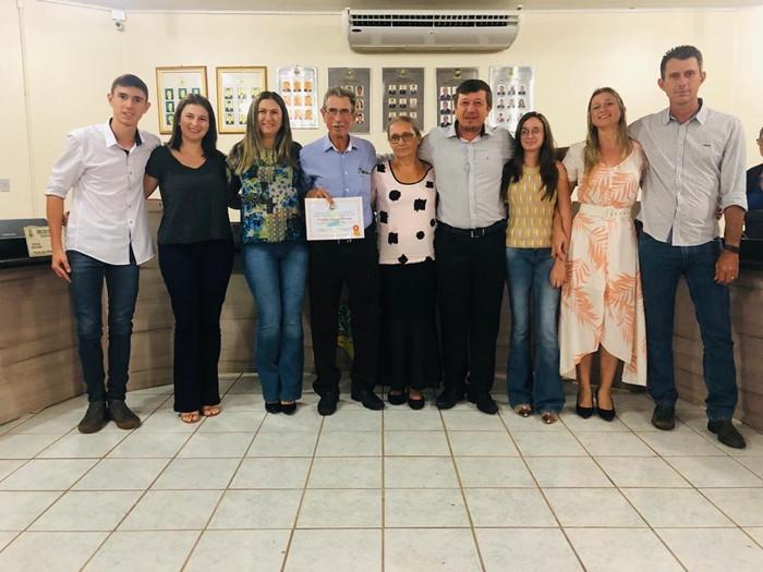 Moacir e sua familia de Porto dos Gaúchos