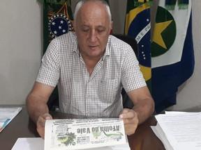 Carlos Sirena em Juara uniu oposições na sua reeleição