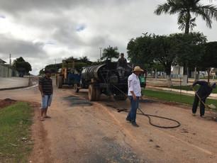 Em Castanheira Administração Municipal Retoma Obras de Infraestrutura