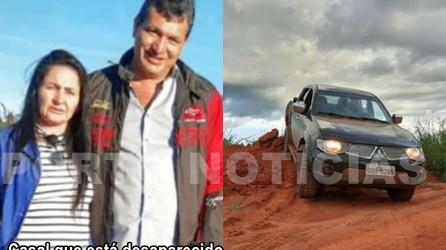 Casal está desaparecido na região do km-47 em Porto dos Gaúchos. Polícia busca por pistas