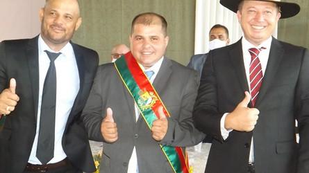 Porto dos Gaúchos teve posse dos vereadores e prefeito