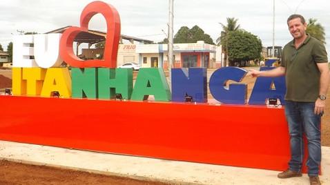 Município de Itanhangá completou 21 anos de emancipação política administrativa