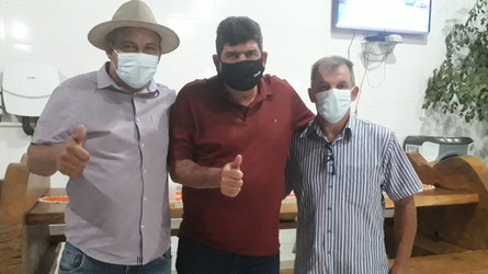 Administração de Castanheira recebe o deputado estadual Dr. João o qual visitou diversos municípios