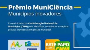 Consórcios podem participar do Prêmio MuniCiência; inscrições vão até 8 de julho