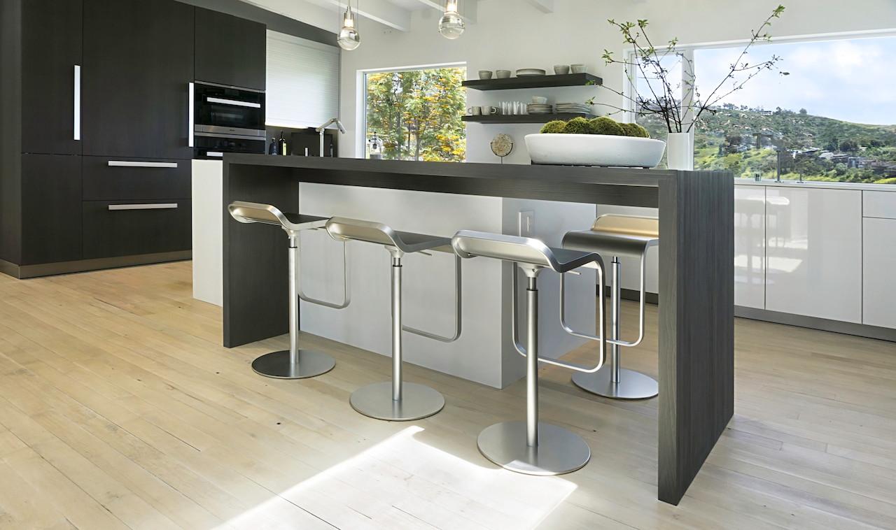 Custom Spekva kitchen table.