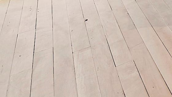 100 Year Old Maple Flooring