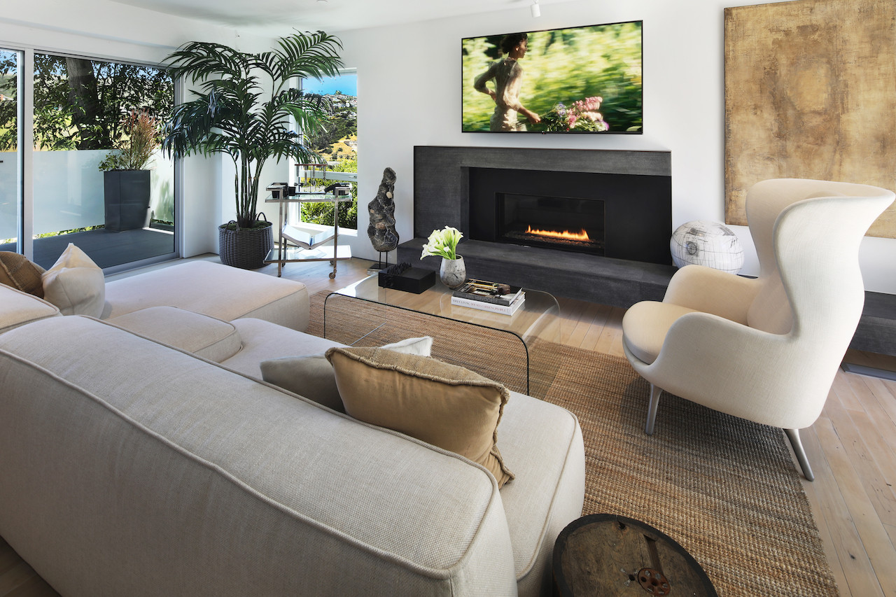 Ample space for entertaining.