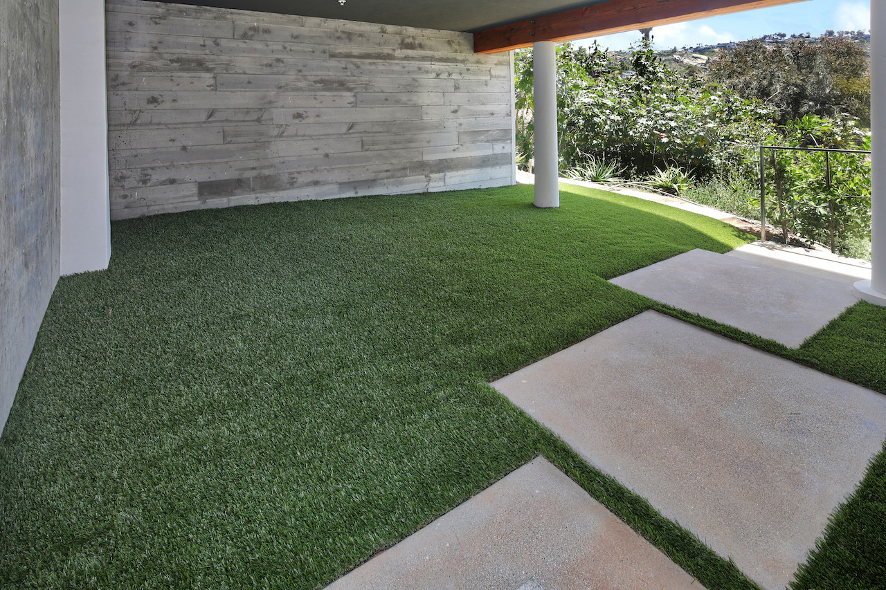 Flex space can be an outdoor lounge, gym or recreation area.