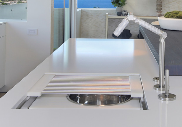 Custom Chef Sinks by The Galley