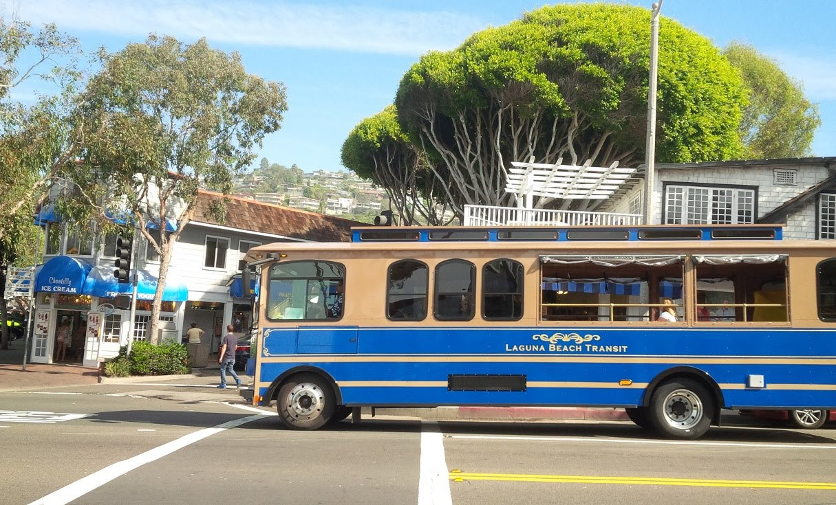 Free Trolly Stop in Front of the Home