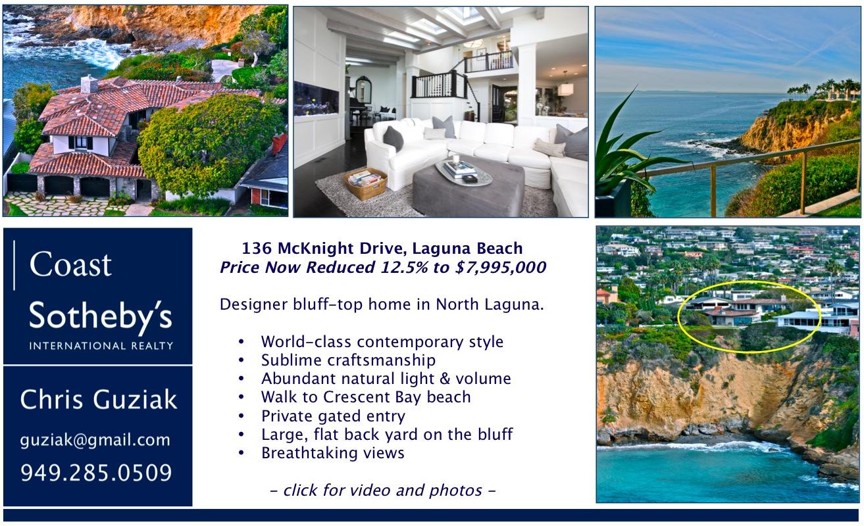 Sample postcard mailer, oceanfront