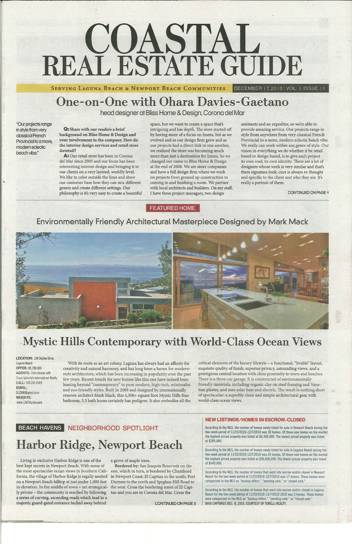 Coastal Real Estate Guide feature