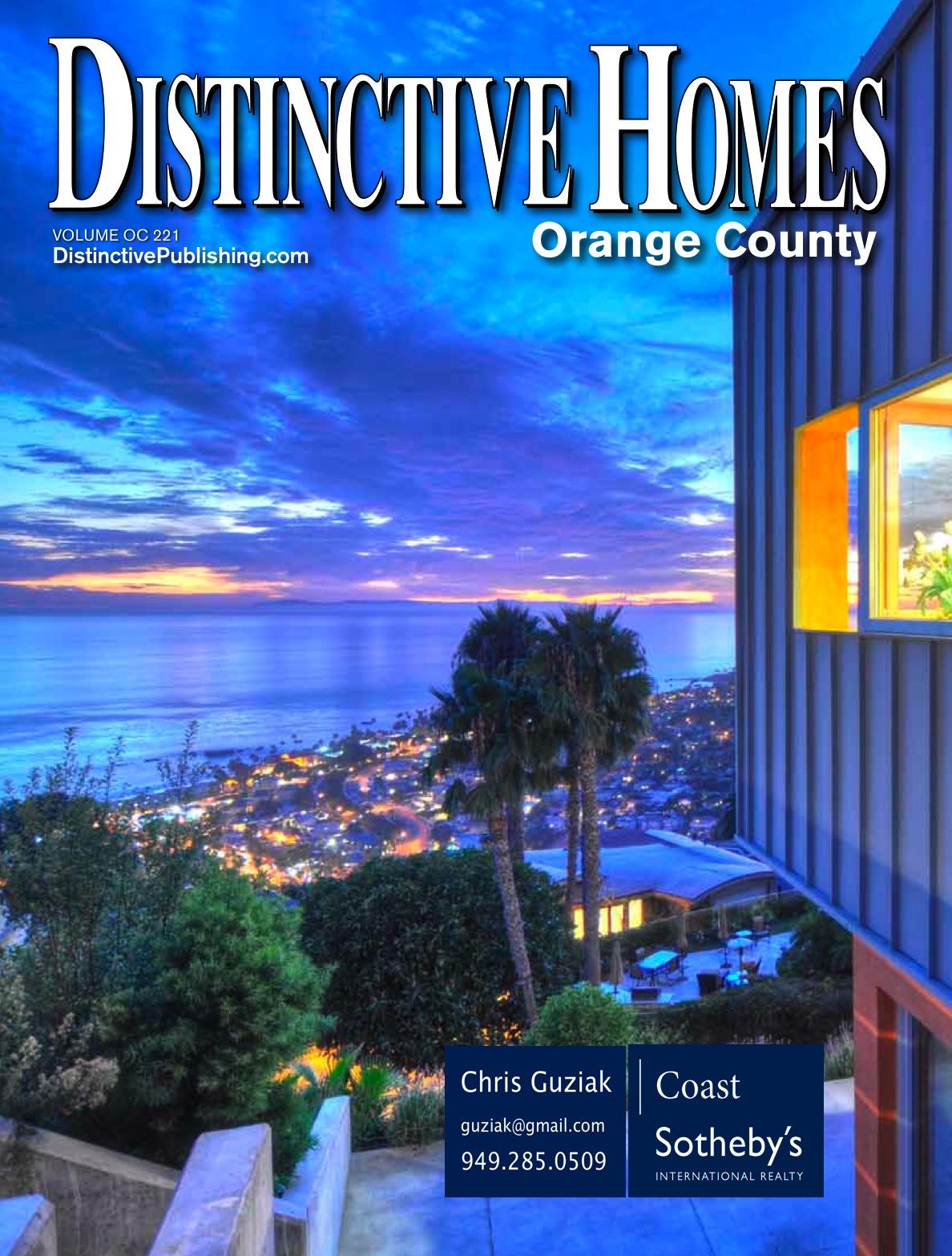 Distinctive Homes cover