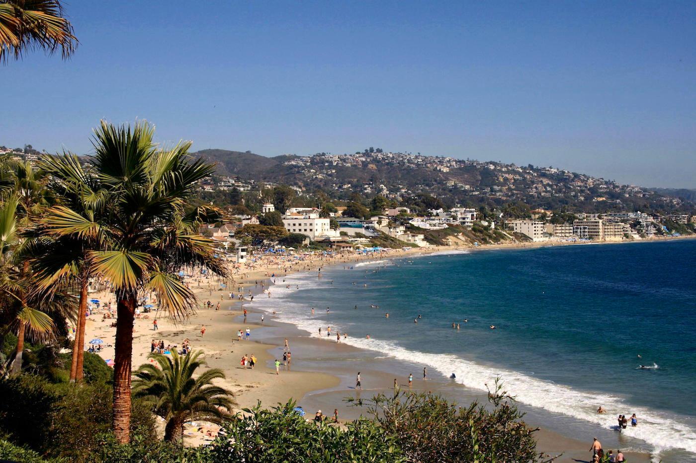 Laguna's Beaches and Coastline - 0.8 mile