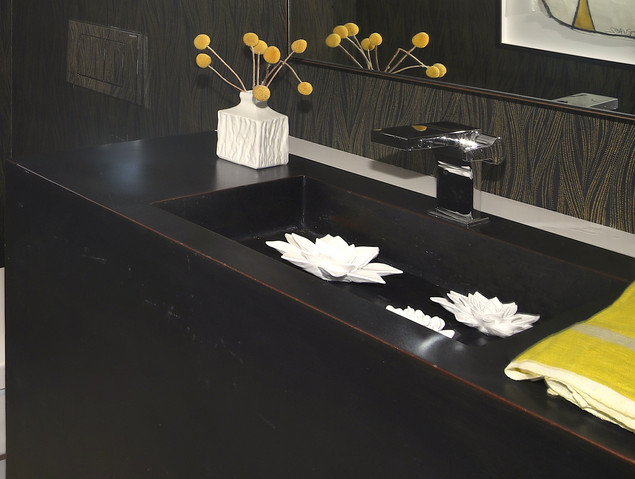 Bath Vanity by Custom Metal