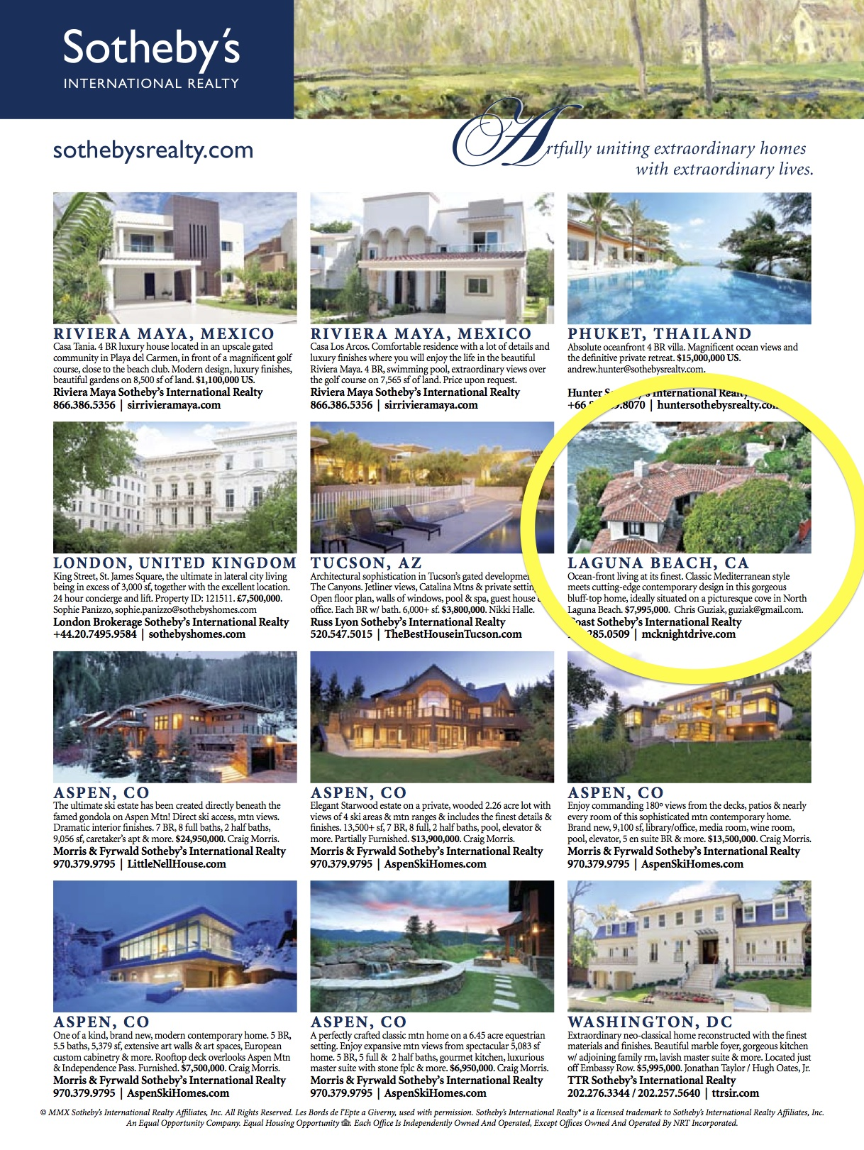 Property featured in Robb Report
