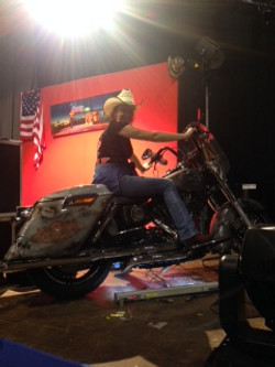 The Queen of Harley Davidson