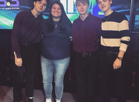 Spending an Afternoon with New Hope Club