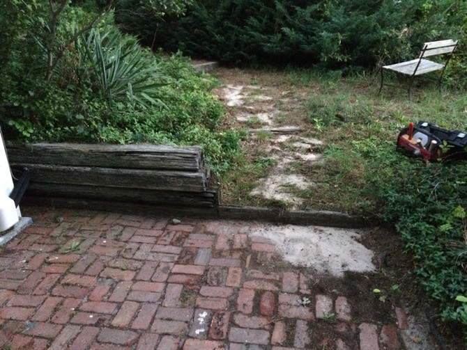 Landscape Masonry Before and After