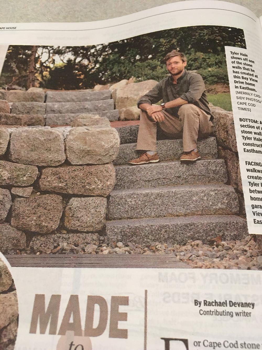 Cape Cod Magazine - Stone Masonry Edition