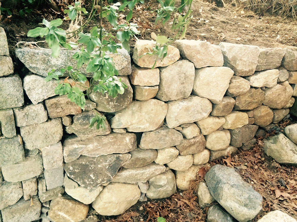 Stone Wall Cape Cod Stoneworks