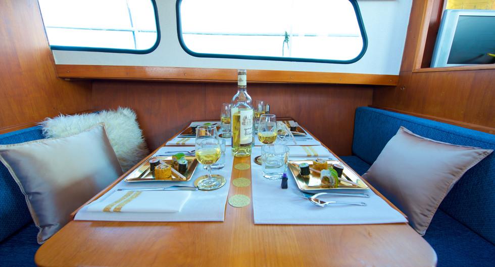 Homeboat repas