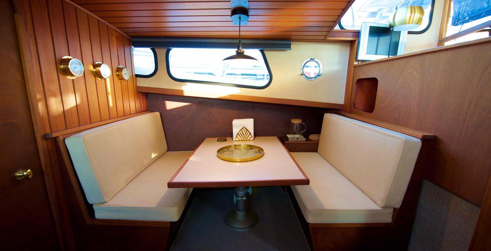 Homeboat intérieur