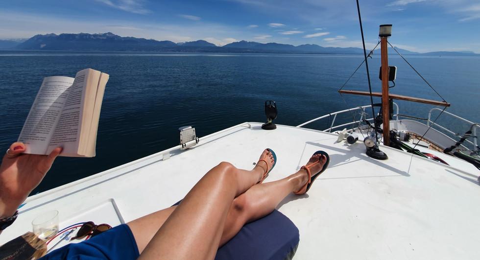 Homeboat bain de soleil