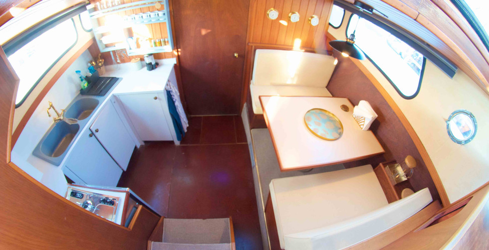 Homeboat en cuisine