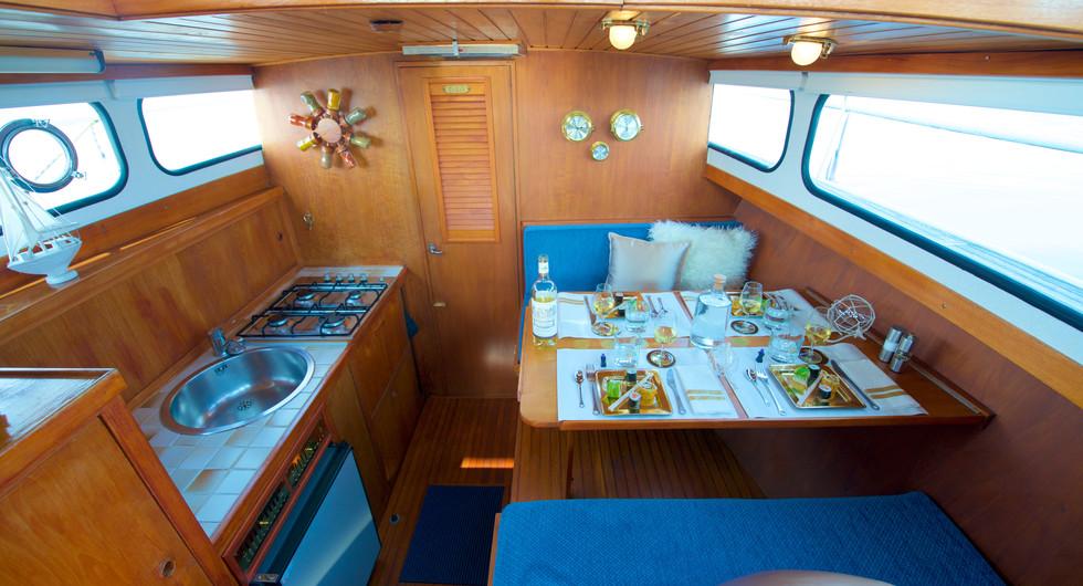 Homeboat espace repas