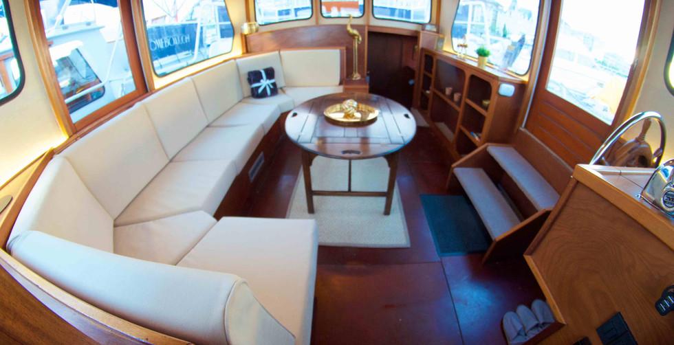 Homeboat salon