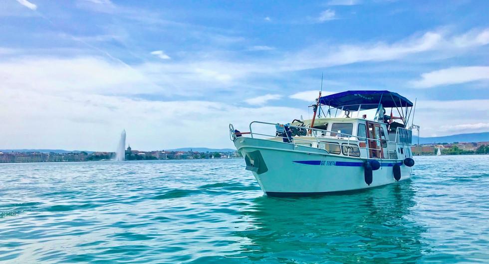 Homeboat hotel flottant