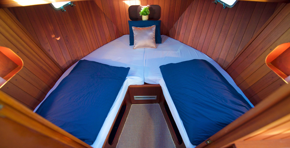 Homeboat cabine