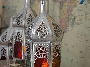 Marrkech lantern Morrocan Lantern tea light Lantern exotic lantern handcrafted art