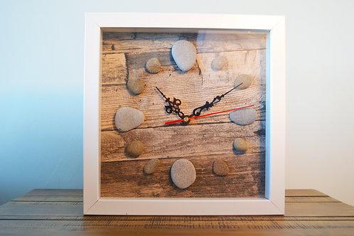 Pebble & Box Clocks