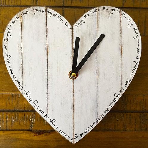 Handwriting clocks
