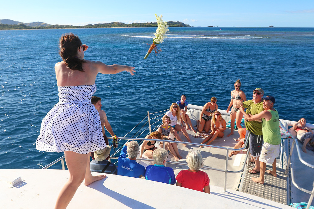 post wedding cruise marriage fiji wedding destination after party love romance happy family friends vacation