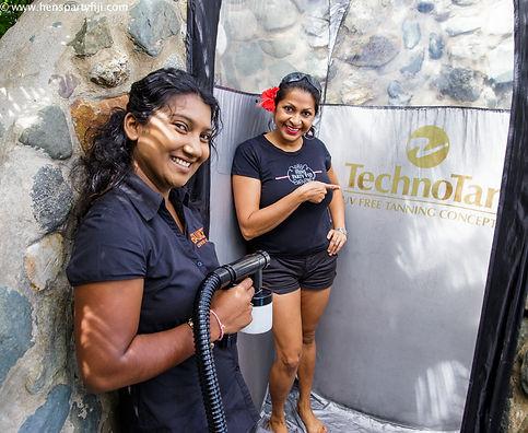 Fake Mobile Spray Tan Denarau Coral coast Outrigger fiji