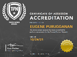Eugene Purugganan TPN Accredited Assesso
