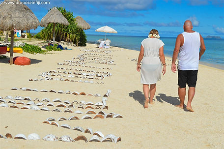 propose in fiji proposal romance love surprise helicopter island engagement